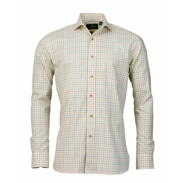 Laksen Ewan cotton/wool Hemd