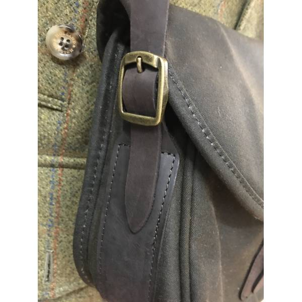 Barbour Munitionstasche Wax Leather Cartridge Bag