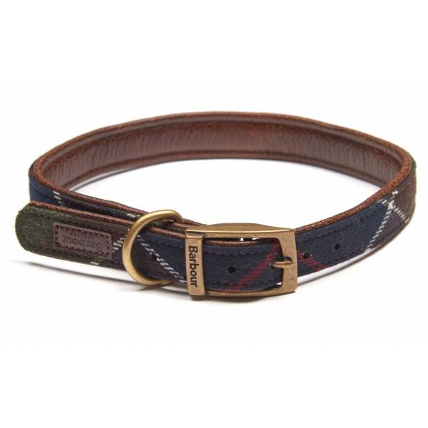 Barbour Hundehalsband Wool Touch Tartan
