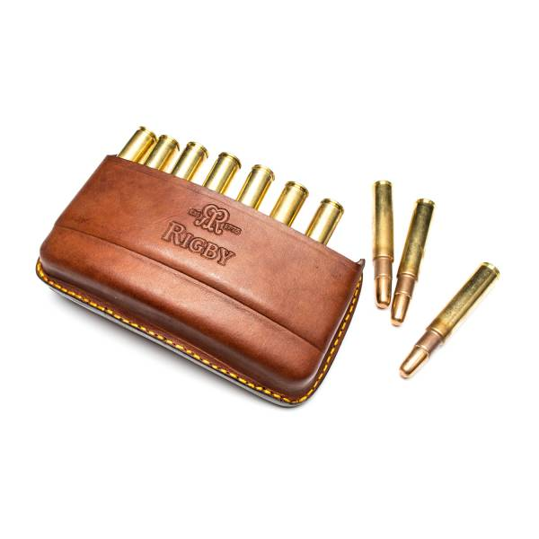Rigby Patronen-Gürtelfutteral Quick Load Leather Bullet...