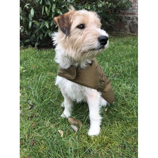 Barbour Lightweight Wax Dog Coat Archive M
