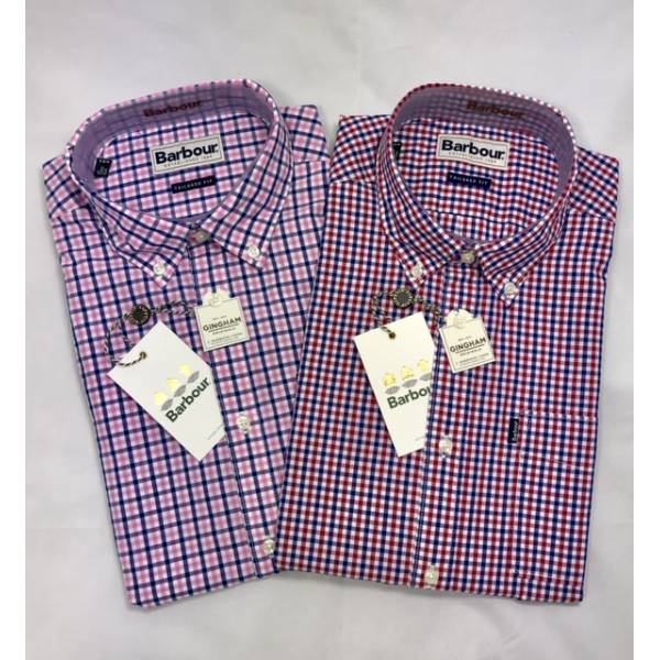 Barbour Hemd Gingham Tailored Fit
