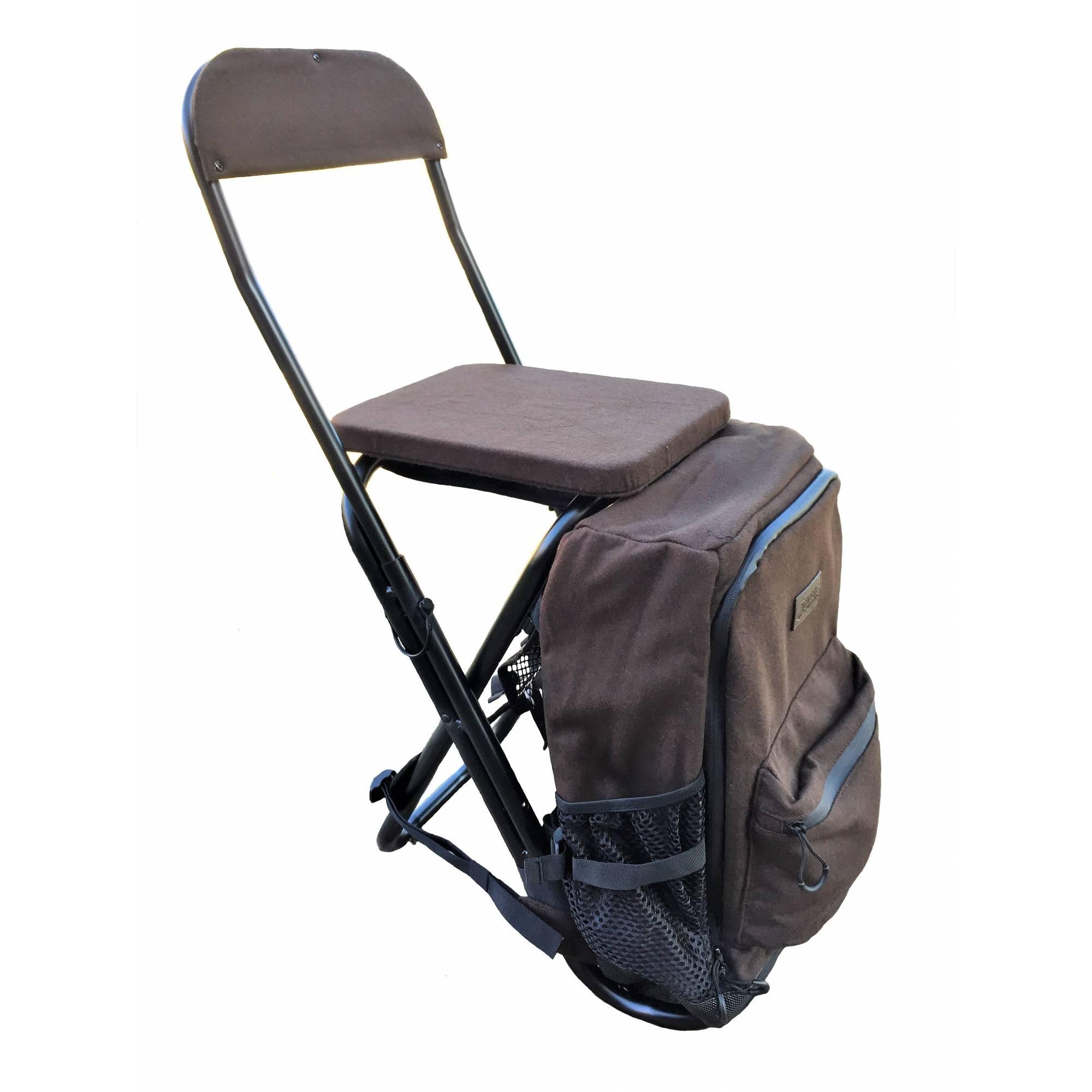 Rucksack Stuhl Mit Lehne Loden Braun Gut Grambow