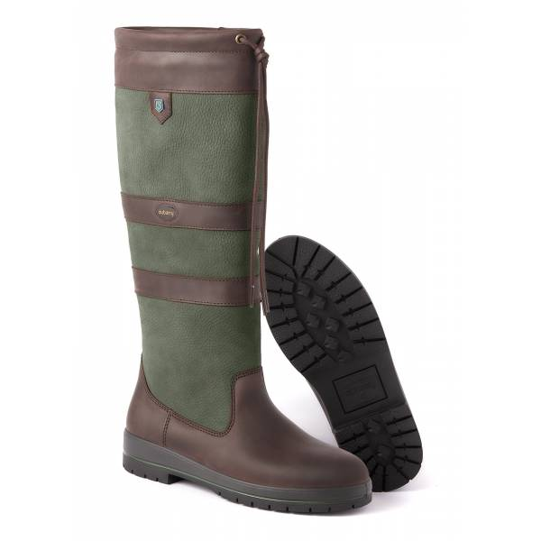 Leder-Stiefel Galway, Farbe Ivy
