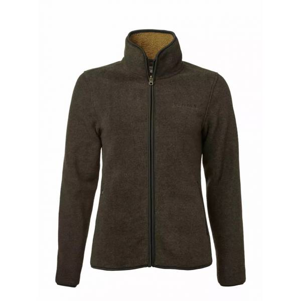 Damen-Fleecejacke Mainstone, Farbe Autumn Green
