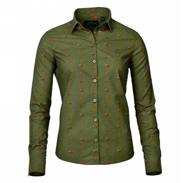 Laksen Lady Fox Shirt-Forest