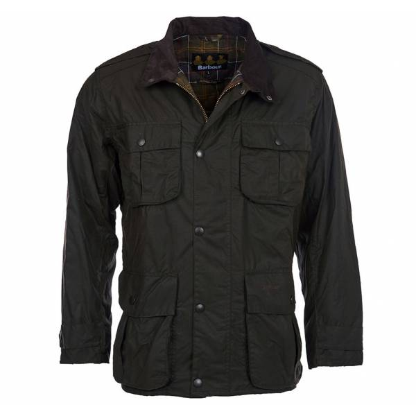 Barbour Wachsjacke Trooper, Olive