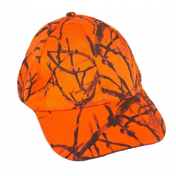 Basecap in Signal-Orange