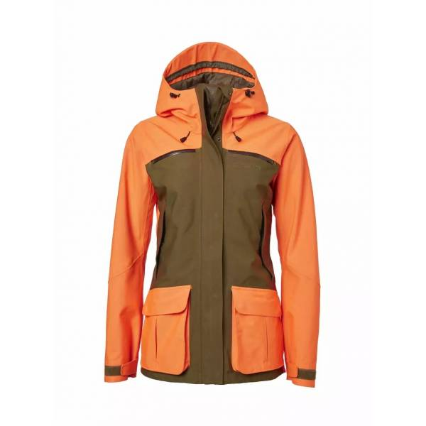 Damen-Jacke Noux, Farbe High Vis Orange