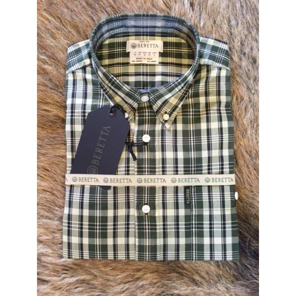 Tom Shirt Green/ Beige Check