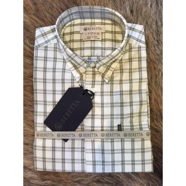 Tom Shirt Beige/Green