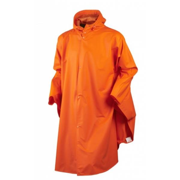 Regenponcho, fluo-orange