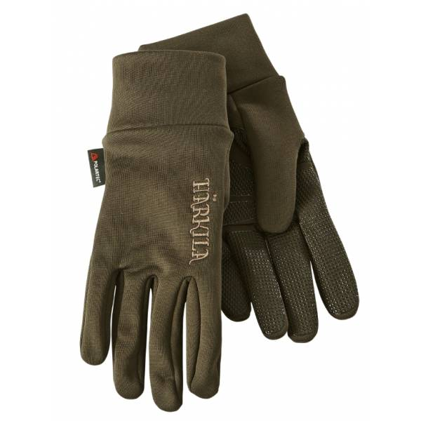 Härkila Power Liner Handschuhe soil brown XL