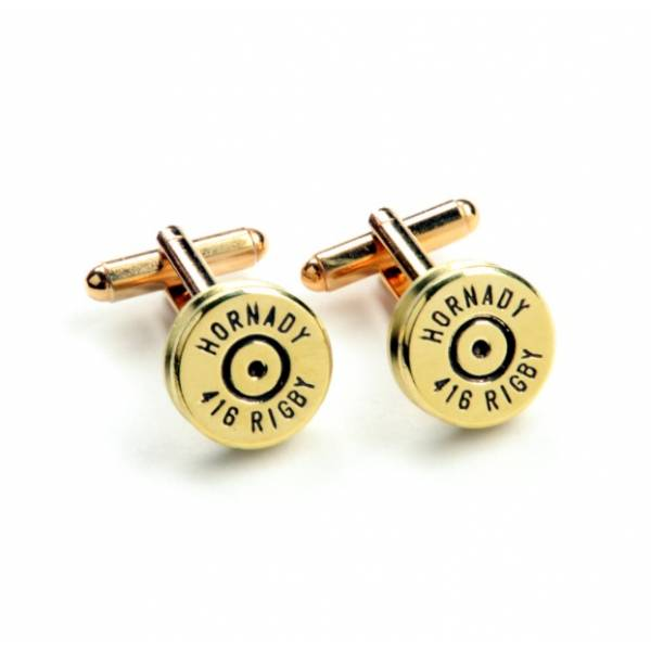 Rigby Cufflings Hornady .416 Rigby cartridges