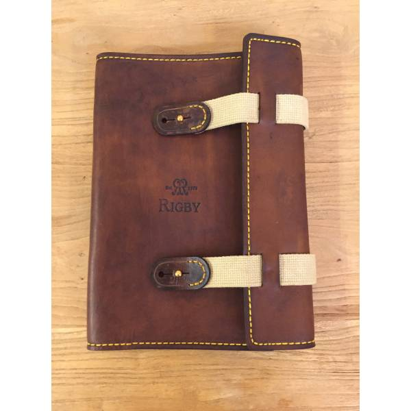 Rigby Leather and Canvas Notebook Cover