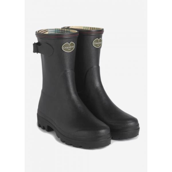 Gummistiefel Giverny low noir