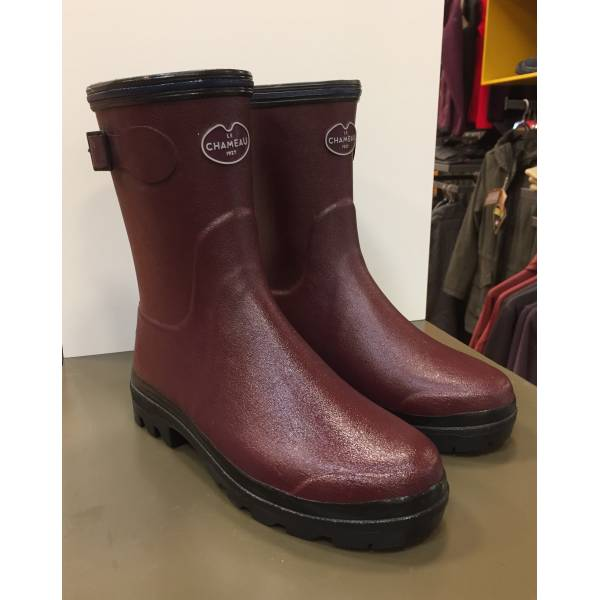 Gummistiefel Giverny low cherry